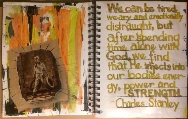 Mandy Art Journaling Class 2